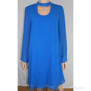 Tacera Blue Dress